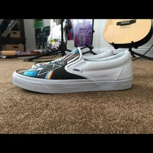 5b18e459ca Vans Shoes - Pink Floyd Hand Painted Shoes